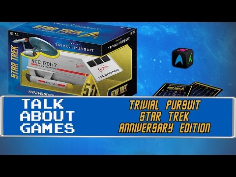 Star Trek 50th Anniversary Trivial Pursuit - Talk About Games