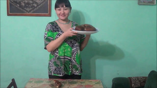 Пирог Зебра на сметане