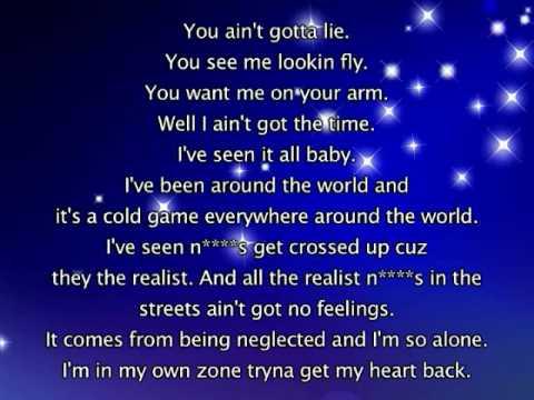 Keyshia Cole - Got To Get My Heart Back, Lyrics In Video