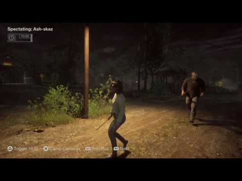 Friday the 13th: The Game Counselor Gameplay Ps4 ( No Commentary )