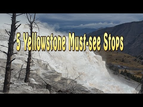Yellowstone 5 must see stops