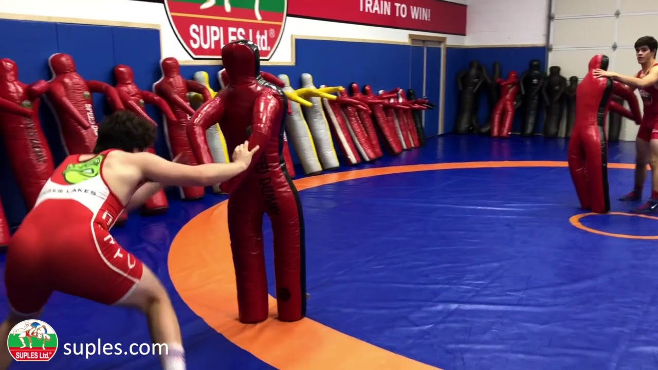 Freestyle Dummy - two arms and two legs Suples wrestling dummy