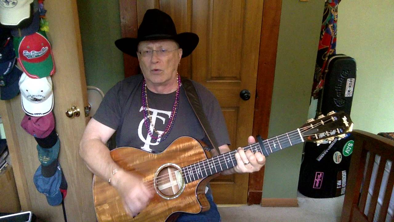 2038 Big Iron Marty Robbins Vocal Acoustic Guitar Cover