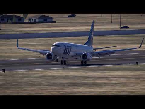 **UDYZ - Yerevan Zvartnots Airport LOT 737-800  LANDING**