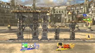 Super Smash Bros. Wii U Match Highlights #6 - It's a HOMERUN!!!