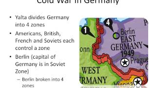 The Cold War 25.1