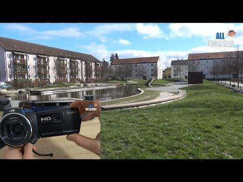Тест видеокамеры Sony HDR-PJ 810 E с проектором. Тест видео фото и тест проектора.