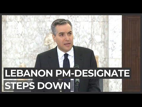 Lebanon PM-designate steps down amid impasse over gov't formation