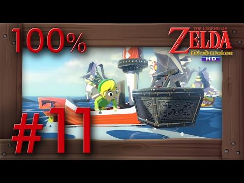 Zelda The Wind Waker HD 100% Walkthrough Part 11 | Great Sea Collecting Wii U Gameplay