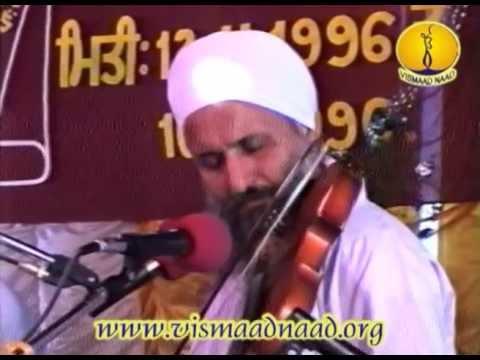 Raag Dhanasari_ Sant Nirmal Singh ji Hapar wale : Adutti Gurmat Sangeet Samellan 1996