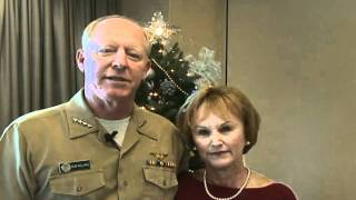 ADM. Robert and Donna Willard 2011 Holiday Message