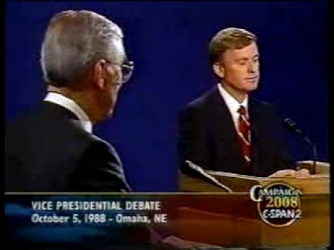 """Senator, you're no Jack Kennedy"" ('88 VP Debate)"