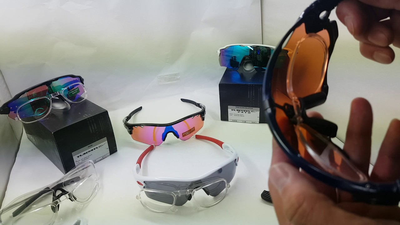 87f767586c Oakley Jawbreaker Sports goggles Prescription optical adapter - YouTube