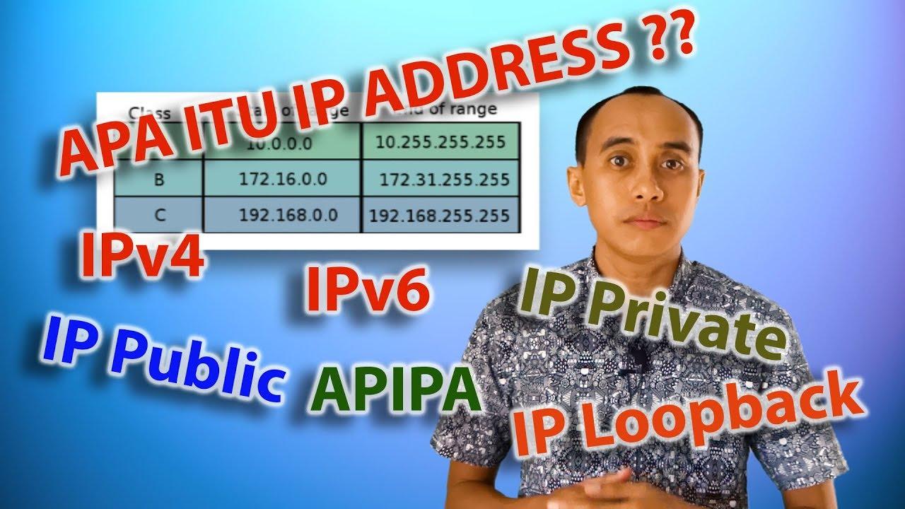 Tips Komputer Dan Jaringan Apa Itu Ip Address Youtube