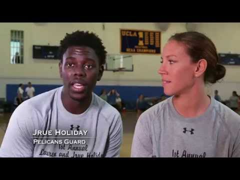 Two Sport Couple: Jrue and Lauren Holiday
