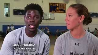 two sport couple jrue and lauren holiday