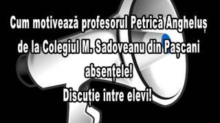 - BitTV Pascani - Cum șterge absențele profesorul Angheluș