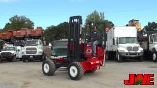 1996 Moffett M5000 Forklift By:  John Woodie Enterprises, Inc.  704-878-2941