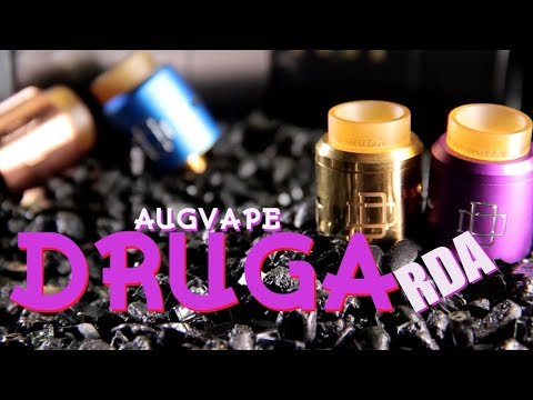 druga-24mm-rda-by:-augvape-(clamp-snag-system)-~rda-review~