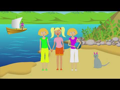 Row Row Row Your Boat! FUNNY CARTOON FOR KIDS!