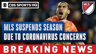 MLS suspends season due to coronavirus concerns | CBS Sports HQ