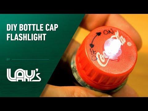 diy-bottle-cap-flashlight