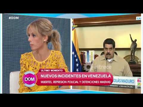 Nuevos incidentes en Venezuela