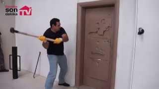 Sur Çelik Kapı dayanıklılık testi