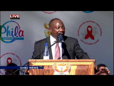 Cyril Ramaphosa launched a National HIV Prevention Campaign in KZN
