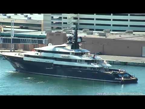 Steven Spielberg's Yacht SEVEN SEAS in Fort Lauderdale 12-18-2012