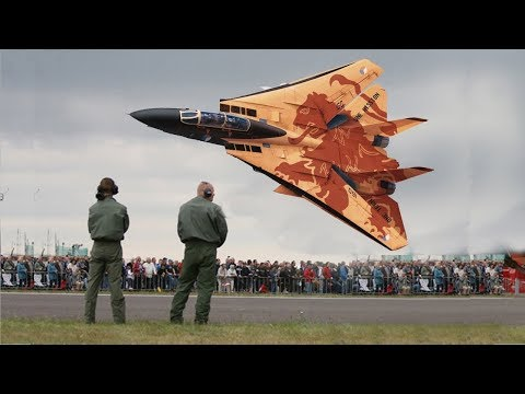 Most shocking fighter jets low flyover(flyby) moments Compil