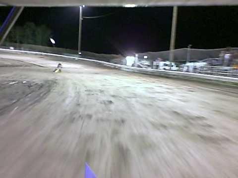 MICRO SPRINT RACING IN CAR CAMERA AT LEMOORE MIDGET RACEWAY