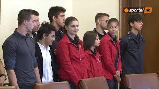 Бойко Борисов към младите олимпийски медалисти: Може да ми викате чичо Бойко