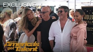 A Behind The Scenes Look At Simon Cowell's Hollywood Star Celebration - America's Got Talent 2018