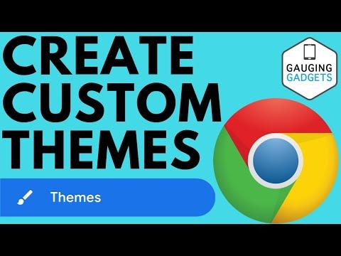 How To Create Your Own Chrome Browser Theme - Customize Chrome Theme