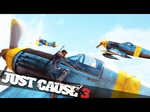 EPIC WORLD WAR 2 DOGFIGHT! :: Just Cause 3 Multiplayer Epic Challenges!