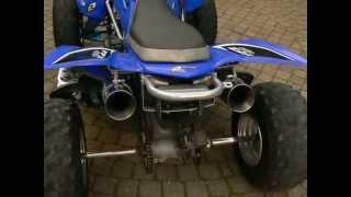 Mise en route quad yfz 450 moteur cbr900