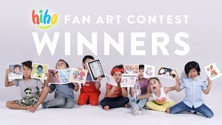 The HiHo kids pick the winners of the Fan Art contest! | HiHo Kids