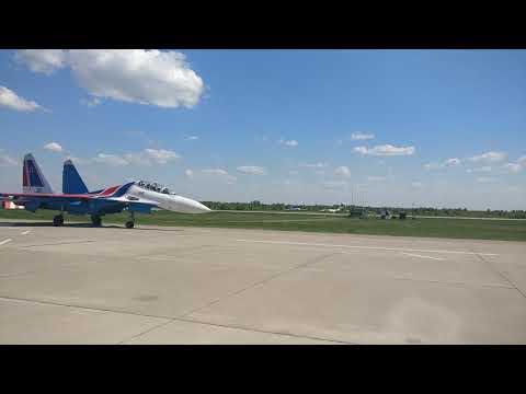 """СУ-30 пилотажной группы """"Русские Витязи"""""""