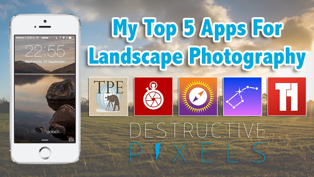 My Top 5 Apps For Landscape Photography Youtube