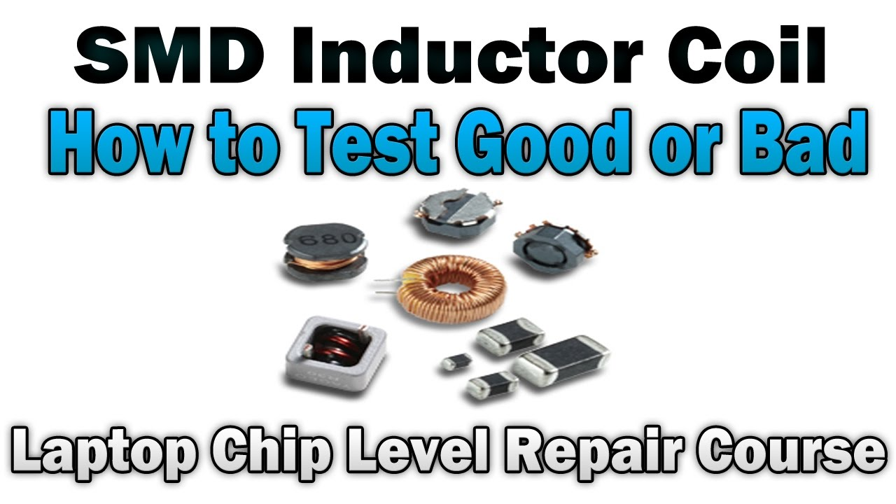 Inductor Coil Laptop Chip Level Repair Youtube