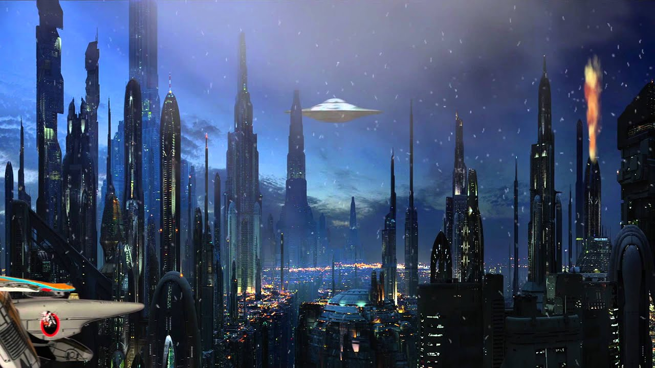 Iss Hd Wallpaper Space City Animation Youtube