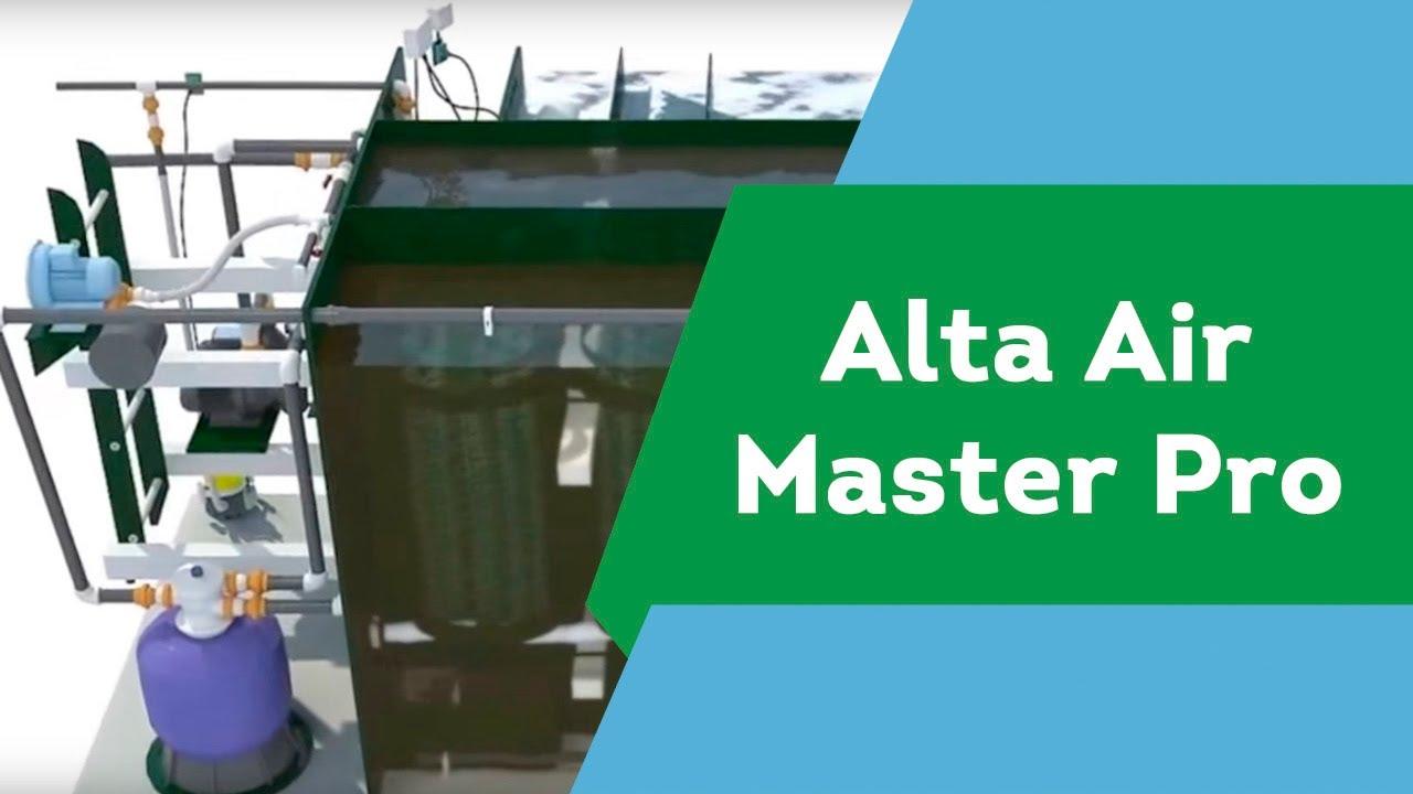 Станция очистки сточных вод Alta Air Master Pro. Автономная канализация