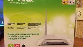 Смотреть видео Установка и настройка TP-Link TL-MR3220. Настраиваем Wi-Fi роутер на работу с 3G/4G модемом,