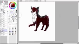 Kitsune-speed paint