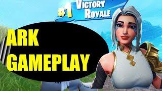 Fortnite ARK SKIN GAMEPLAY (Close Call Win)