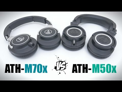 ATH-M70x Vs ATH-M50x - Full Comparison + Sound Test