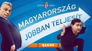 MAGYARORSZÁG JOBBAN TELJESÍT!!!