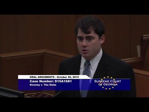 Attorney Matthew J. Grossman Supreme Court Argument; Downey v. State