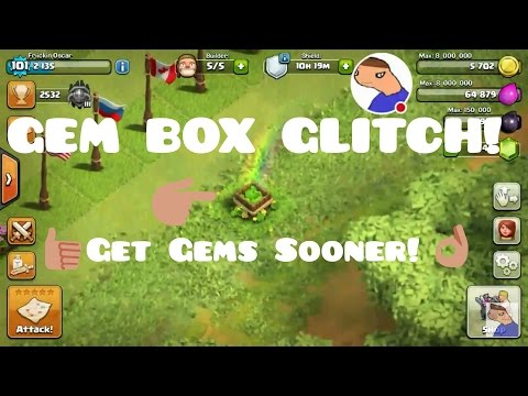 Clash Of Clans | GEM BOX GLITCH! (May Not Work Anymore)